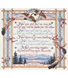 """Janlynn Apache Wedding Blessing Counted Cross Stitch Kit 15""""X14"""" 14 Count 23-0309"""