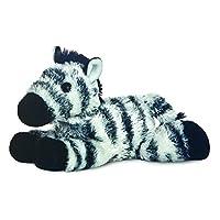 Popular Mini Flopsie - Zany Zebra 8In Plush Soft Toy Animal - My First Teddy Bear For Girls & Boys. Great Gift Idea