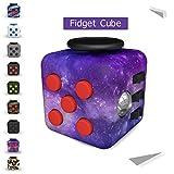 Tepoinn Fidget Cube soulage le stress et l'anxiété pour les enfants et les adultes (Ciel)