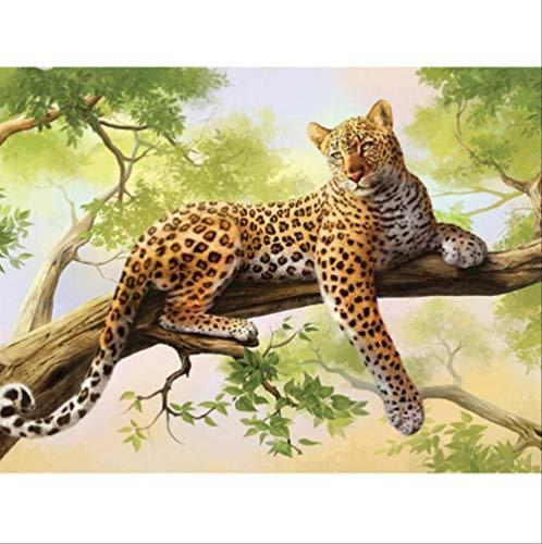XXL-521 DIY 5D Diamant Malerei Leopard Diamant Stickerei Cheetah Beast EIN Bild Von Strass Mosaik Zeichnungen Dschungel Tiere Bild 30x40 cm Strass Cheetah