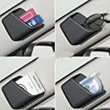Delhitraderss -2 X Grey Car Pillar Pocket Holder Box Cigarette Cellphone Sunglasses Holder for - Ford Figo Aspire