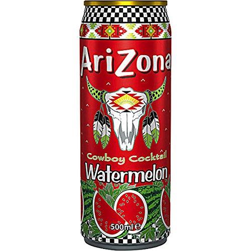 Arizona Cowboy Cocktail Watermelon (Wassermelone) 12 x 500ml Dosen (inkl. 3,00 Euro EINWEG Pfand) (