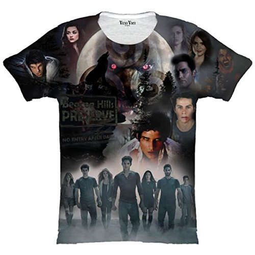 Veni Vici T-Shirt Teen Wolf - Bunt - S