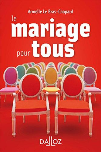 Le mariage pour tous - Nouveauté