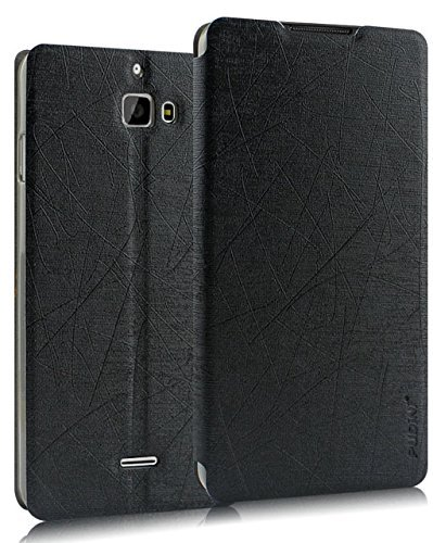 Febelo Pudini Perfect Fitting Flip Case Cover for Micromax Canvas Nitro A311 / A310 / Coolpad Dazen 1 - Black  available at amazon for Rs.399