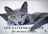 Der Katzenkalender für meinen Schatz (Wandkalender 2018 DIN A3 quer): Besinnliche und heitere Lebensweisheiten für Katzenliebhaber (Monatskalender, 14 ... [Kalender] [Apr 01, 2017] CALVENDO, k.A.