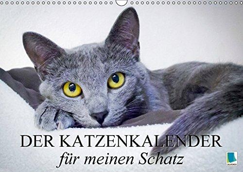Der Katzenkalender für meinen Schatz (Wandkalender 2018 DIN A3 quer): Besinnliche und heitere Lebensweisheiten für Katzenliebhaber (Monatskalender, 14 ... [Kalender] [Apr 01, 2017] CALVENDO, k.A. (Chaplin Kalender)