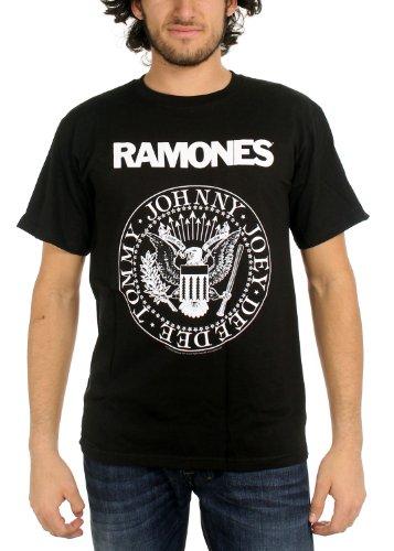 Ramones - Camiseta - para hombre negro Medium