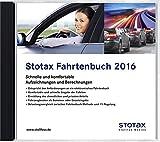 Stotax Fahrtenbuch 2016, CD-ROMSchnelle und komfortable Aufzeichnungen und Berechnungen. Für Windows XP, Vista, Windows 7