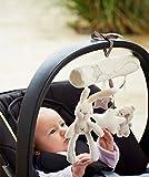 JUYUAN Kinderwagenspielzeug Insekt Baby Lernspielzeug Kinderwagen Anhänger Spirale Spielzeug Cute Bunny Bear für Kinderwagen Pram Pushchairs Auto Hanging Spielzeug mit Sounds für Neugeborene Baby Jungen Mädchen