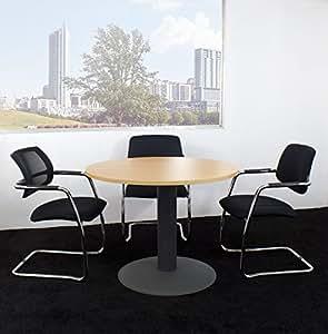 nova runder besprechungstisch esstisch k chentisch tisch buche rund 100 cm k che. Black Bedroom Furniture Sets. Home Design Ideas