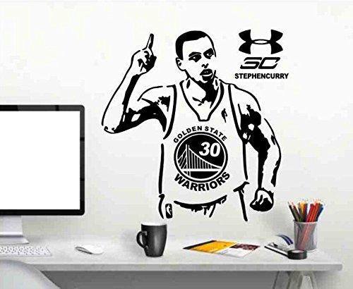 Aoligei Fußball Basketball Stern Aufkleber Poster Wandaufkleber College Wohnheim Schlafzimmer Wand Persönlichkeit Basketball Aufkleber (Poster College-wohnheim)