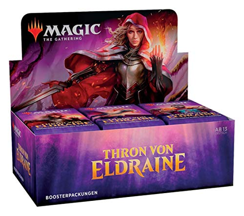 Magic The Gathering - Thron von Eldraine - Boosters / Displays Auswahl | DEUTSCH | Sammelkartenspiel TCG, Booster:36er (Display)