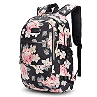 Anti Theft Backpack,Business Travel Laptop Backpack with RFID Signal Blocking Pouch USB Charging Port, Water-Resistant Slim Backpack Fit 15.6 Inch Laptop Computer Work School Rucksack for Womens Mens