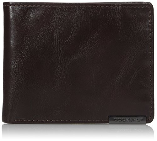 Dockers Men's Skyline RFID Blocking Passcase Wallet (Passcase Wallet Braun)