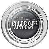 Maybelline color Tattoo 24hr gel Cream Eyeshadow Immortal Charcoal 55