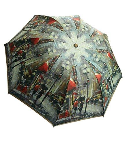 Urban Landscape Design Automation personnalisée Parapluie pliable