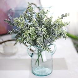 Künstliche Eukalyptus-Pflanze, Kunststoff, für Zuhause, Garten, Hochzeit, Party etc.