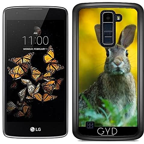 Coque pour LG K8 2017 - Lapin Faune Sauvage Pâques by WonderfulDreamPicture