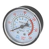 Druckluft Kompressor Pneumatische Hydraulik mit Vakuum, Gauge 0–12bar