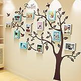 Fotowand Foto Wand, 7 Zoll Rahmen Wandaufkleber, Restaurant Schlafzimmer Wohnzimmer Büro Foto Wand, große Wand 12 Rahmen kreative Wand Ornament ( Farbe : 1# )