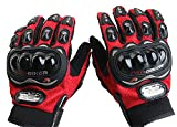 Gants de Moto /All- Doigt Gants d'équitation Extérieur Gants / Off-Road Gants équitation Gants/Locomotive Knight Gants-rouge,M