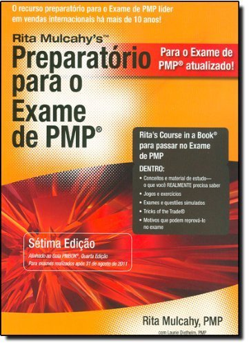 Preparatorio para o Exame de PMP/ PMP Exam Prep Book: Aprendizado rapido para Ppassar No Exame de Pmp do Pmi - Na Primeira tentativa! (Portuguese Edition) by Rita Mulcahy (2011-09-01)