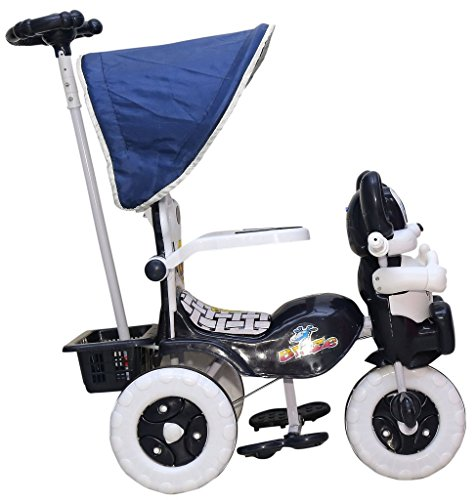 Amardeep And Co Baby Tricycle 1-3 Yrs W/Shade And Parental Control 86*64*33 Cms