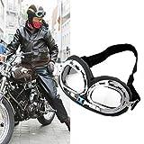 SunnydayDE Hot Anti-UV-Sicherheits Motorrad Roller Pilot Goggles Helm Brille Motocross