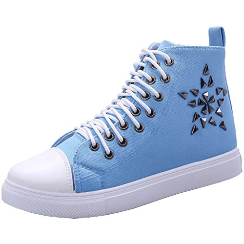 Azbro - Pantofole a Stivaletto Donna Blu