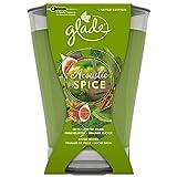 Glade Langanhaltende Duftkerze Lufterfrischer, Acoustic Spice, 1er Pack (1 x 224 g)