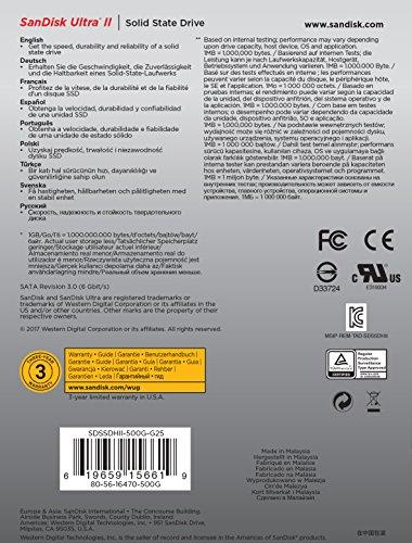 SANDISK-SDSSDHII-Ultra-II-interne-SSD-120GB-64-cm-25-Zoll-SATA-schwarz