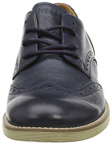Froddo M&AumlDchen Girls Shoes Dark Blue G4130049 Brogue Schnürhalbschuhe Blue (Dark Blue)