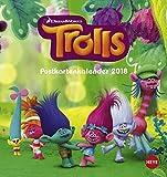 Trolls Postkartenkalender - Kalender 2018