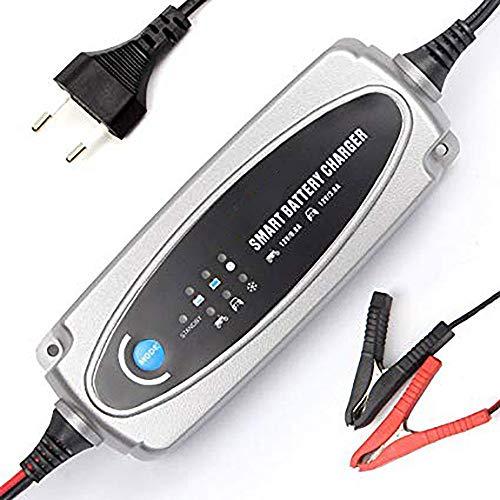QWERDF Batteria 12V Car Charger Sicurezza Auto ups Piombo Smart Charger Batteria per Auto Moto Lawn Mower ATV Giocattolo