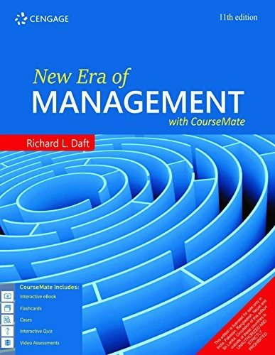 New Era Of Management With Coursemate, 11 Ed