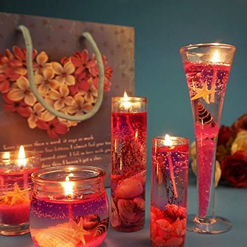 MXJ Rosa Schöne Kerze Hochzeit Bevorzugungen Geschenke Duftkerzen Hochzeitsdekoration Kerzenlicht Hediyelik Dekorative KerzenTyp 3