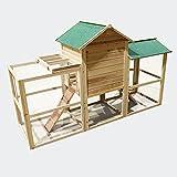 Jaula-para-animales-pequeos-XXL-Clapier-conejo-cabaa-para-pequeos-roedores-madera-con-rea-de-juegos