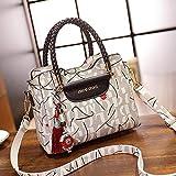 Hexiansheng Diagonalpaket für Frauen Damenhandtasche Herbst und Winter europäische und amerikanische Mode einzelne Schulter schräg Cross Tasche