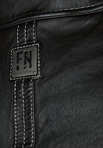Freaky Nation Lederjacke BLIND TRUST 1 Large, black - 6