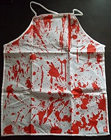 Blutige Schürze Blutschürze Halloweendeko Halloween (Reformation Kostüme)