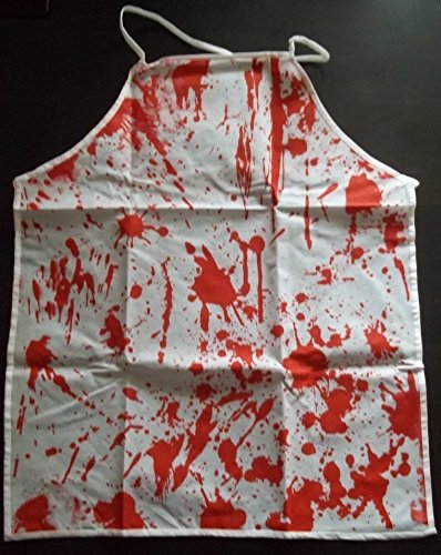 Blutige Schürze Blutschürze Halloweendeko (Kostüm Schurz Halloween)