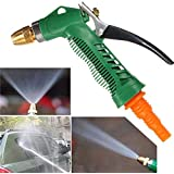 Clazkit Water Spray Gun - Plastic Trigger High Pressure Water Spray Gun for Car/Bike/Plants - Gardening Washing