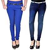 Combo of Blue Jeans & Blue Jegging from ...