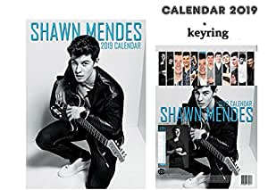 shawn mendes kalender 2019 shawn mendes schl sselanh nger b robedarf schreibwaren. Black Bedroom Furniture Sets. Home Design Ideas