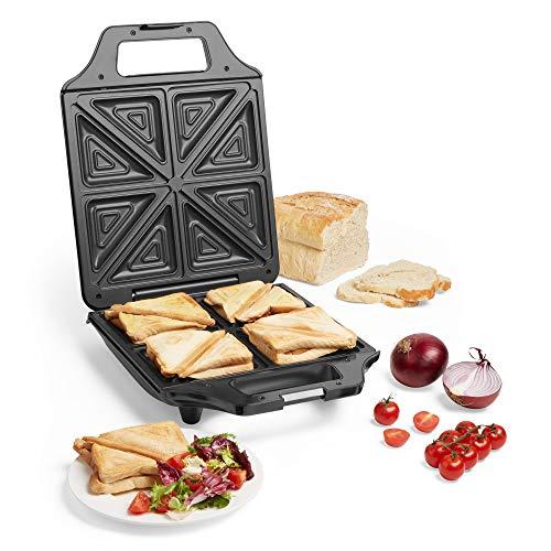 VonShef Sandwich Toaster, Deep F...