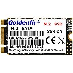 LanLan Grosses Soldes Disque SSD Goldenfir M.2 SATA 2242 SSD pour Ordinateur Portable 480GB