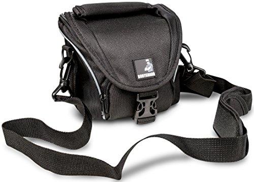 BODYGUARD 5* Tasche schwarz - passend für Sony Alpha 5000 5100 6000 6300 6500 DSC- RX1R II RX10 II H300 HX400 RX1R II