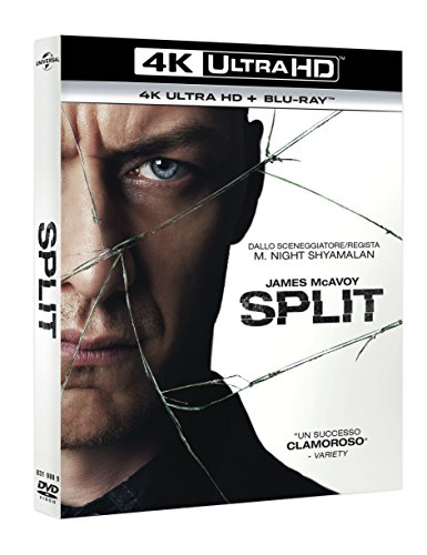 Split (2 Blu-Ray 4K UltraHD + Blu-Ray)