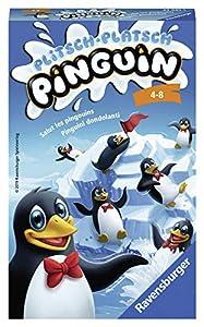 Ravensburger Plitsch Platsch Pinguin Juego de Habilidades motrices Finas Niños - Juego de Tablero (Juego de Habilidades motrices Finas, Niños, 10 min, 15 min, Niño/niña, 8 año(s))